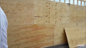 Proper Orientation for Structural Panels on a Braced Wall
